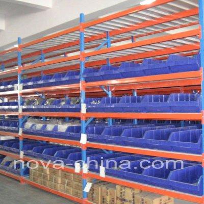 Storage bin racks