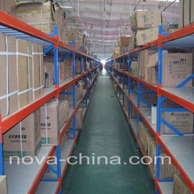 Storage bin shelf
