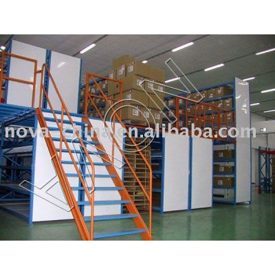 Used pallet storage racking and shelving