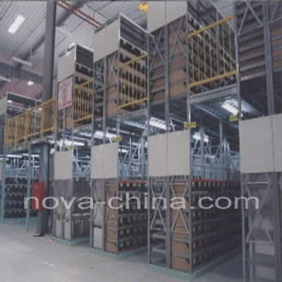 warehouse mezzanine in machinery