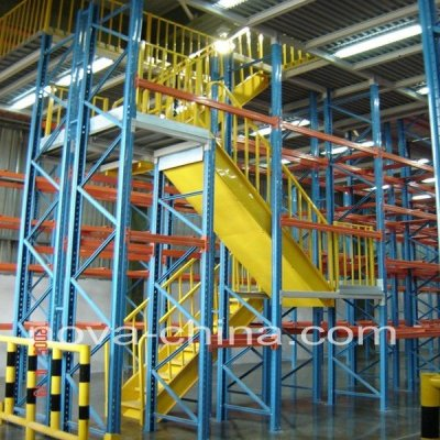 Multiply layer Rack Supported Warehouse Shelving Mezzanine