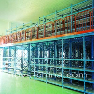 Marehouse mezzanine shelf