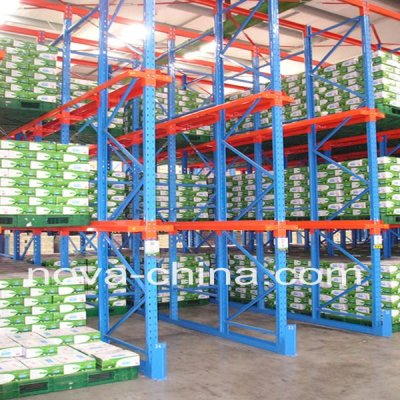 Save storage space Drive-in Pallet Racking