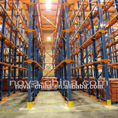 racking manufacturer of Drive-in pallet racking for warehouse shelving system