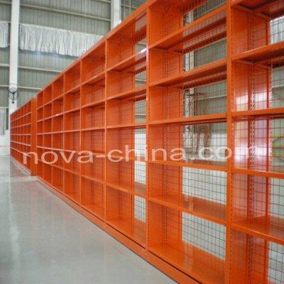 Library shelves