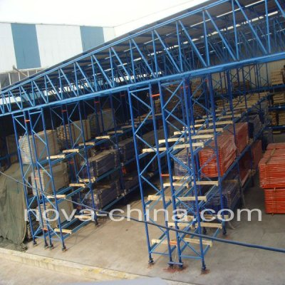 warehouse racking support building