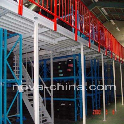 Steel floor Mezzanine