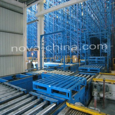 AS/RS Pallet Racking System