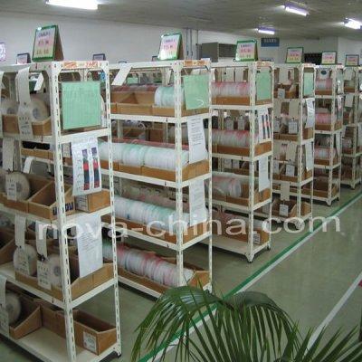 warehouse slotted angle storage racks