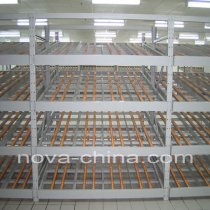Warehouse roller rack