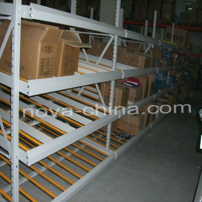 Upright frame structure Rolled Material Storage