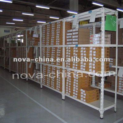 steel library shelves