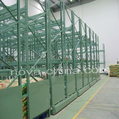 Heavy duty movable racking