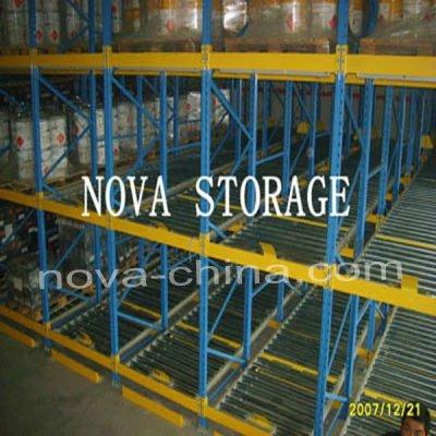 storage steel gravity pallet racking