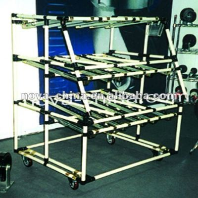 Easy to assemble or disassemble Pipe Rack