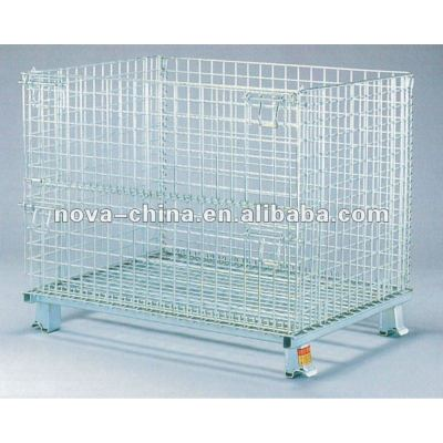 folded freely Steel Foldable Pallets
