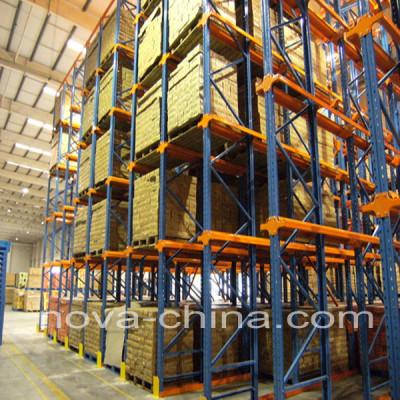 Steel drive-in pallet rackings