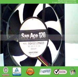 new  9GH1212M403 fan 12V 0.13A 12cm 120*120*25mm 3Pin--1pc