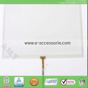 """1pc AMT-9558 touch screen glass 10.2""""Inch 4wire"""