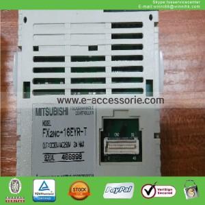 1PC Used Mitsubishi FX2NC-16EYR-T PLC Module