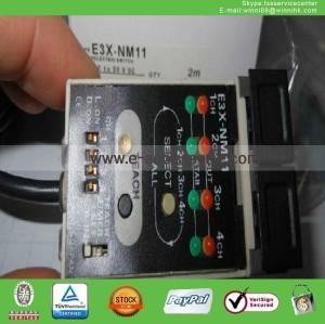 New Omron E3X-NM11 Optical Fiber Amplifier in Box