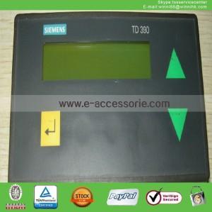 used Siemens 6ES5390-0UA11 SIMATIC TD390