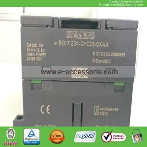 used Siemens EM231 6ES7 231-0HC22-0XA0 PLC model