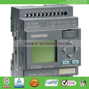 new 6ED1052-1MD00-0BA6 Siemens LOGO! 12/24RC PLC 12/24V DC/RELAY