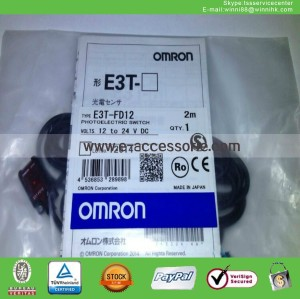 New E3T-FD12 Omron Photoelectric Sensor Switch