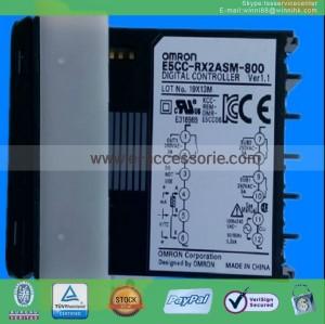 new OMRON E5CC-RX2ASM-800 100-240VAC Temperature Controller