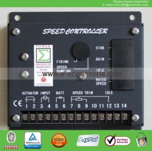 NEW S6700E Generator Speed Controller Panel AVR