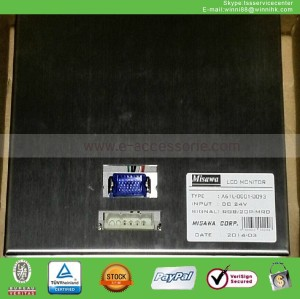 new LCD monitor for Fanuc 9'' A61L-0001-0093 CRT Display