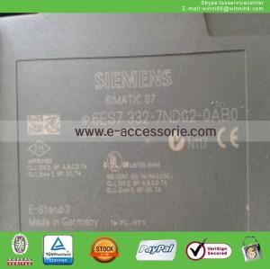 SIEMENS 6ES7 332-7ND02-0AB0 PLC MODULE