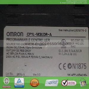 CP1L-M30DR-A Used PLC OMRON 60 days warranty