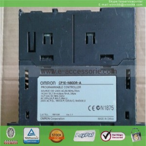 PLC CP1E-N60DR-A Used OMRON  60 days warranty
