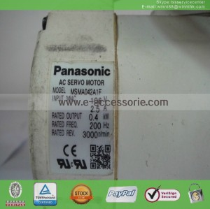 AC MSMA042A1F Used PANASONIC SERVO MOTOR 60 days warranty