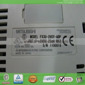 FX3U-2HSY-ADP PLC MITSUBISHI New 60 days warranty