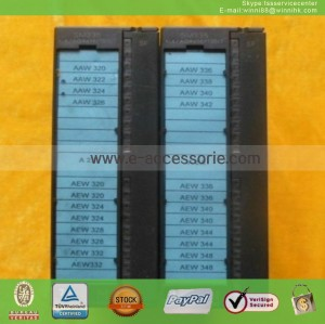 Used 6ES7335-7HG01-0AB0 Siemens plc 60 days warranty