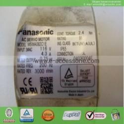 PANASONIC MSMA082C1E AC Used SERVO MOTOR 60 days warranty