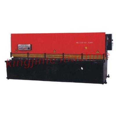 QC12Y série machine hydraulique de cisaillement balançoire faisceau