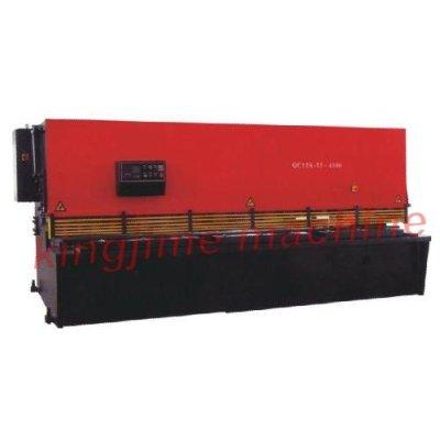 QC12K série de type économique CNC balançoire Cisaille hydraulique machine à faisceau