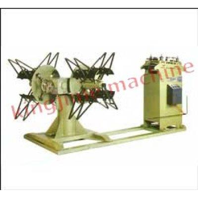 آلة التقويم مع رفوف إرسال المواد التلقائية ذات رأسين