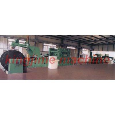 Высокоскоростная производственная линия CNC по раскрытию, резке и выпрямлению средних плит