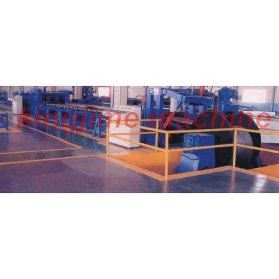 Простая производственная линия CNC по раскрытию, резке и выпрямлению средних плит