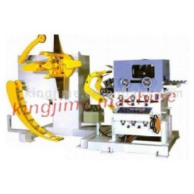 Комбинированная машина с полкой материалов, выпрямителем и питателем типа NCSF4