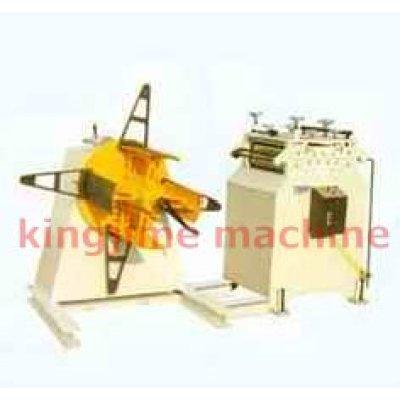 Máquina de retificação de material + Prateleira de material