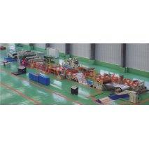 La línea de producción de clasificar barras de láminas