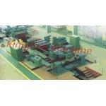 La línea de producción de clasificar barras de chapas gruesas