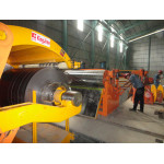 0.6-6.0mm thick hot steel coil Slitting machine