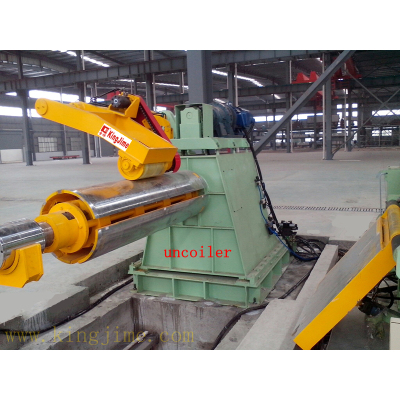 5-40 tons decoiler with coil car